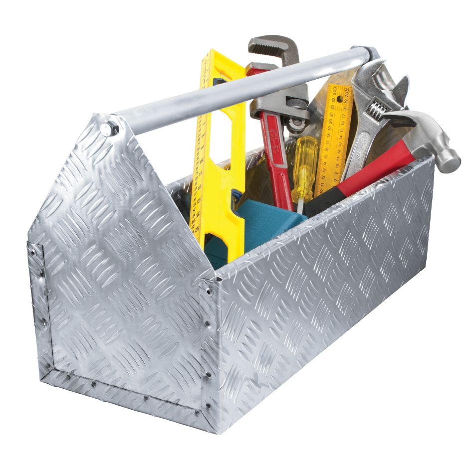 Toolbox w/ transparent background